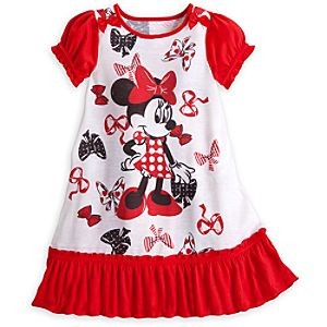 Minnie Mouse Bows Nightshirt for Girls