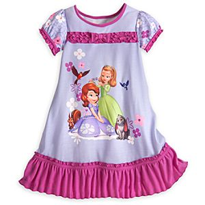 Sofia and Amber Nightshirt for Girls