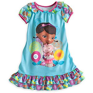 Doc McStuffins Nightshirt for Girls - Blue