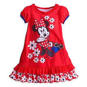 Minnie Mouse Daisies Nightshirt for Girls
