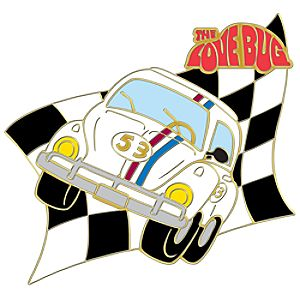110th Legacy Collection Herbie The Love Bug Pin
