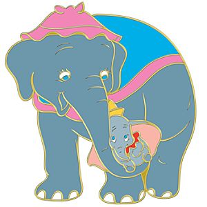 Mothers Day Jumbo and Dumbo Pin