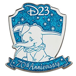 D23 Membership Exclusive 70th Anniversary Dumbo Pin