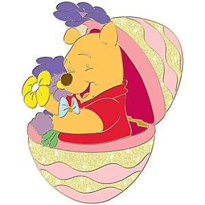 Easter Egg Winnie the Pooh Pin