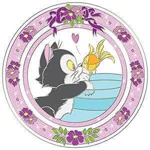 Disney Kiss Figaro and Cleo Pin