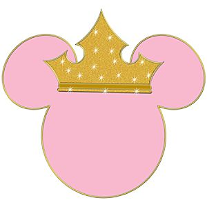 Princess Minnie Mouse Antenna Topper Pin
