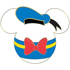 Ducky Mickey Mouse Antenna Topper Pin
