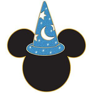 Sorcerer Mickey Mouse Antenna Topper Pin