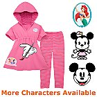 Create-Your-Own Hooded Kimono Set with Leggings for Girls -- 2-Pc.
