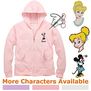 Create-Your-Own Zip-Front Hooded Sweatshirt for Kids