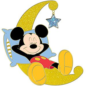 Midsummers Nap Series Mickey Mouse Pin