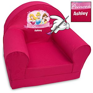 Personalized Disney Princess Armchair for Kids