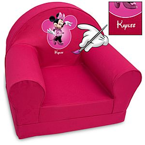 Personalized Minnie Mouse Armchair
