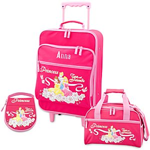 Personalized Disney Princess Luggage Set for Girls -- 3-Pc.
