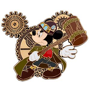 Mickey Mouse Gears Mickey Mouse Pin