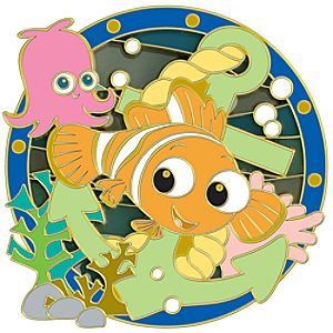 Nautical Nemo Pin
