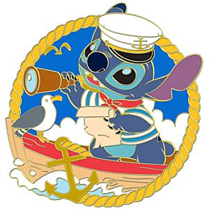 Nautical Stitch Pin