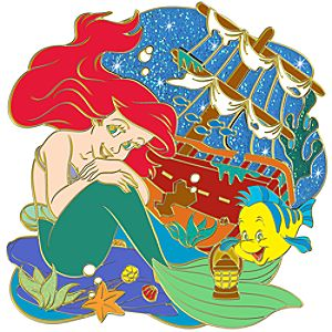 Nautical Ariel Pin