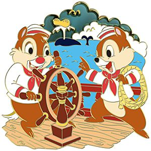 Nautical Chip an Dale Pin