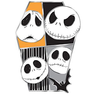 Many Faces of Disney Series Jack Skellington Pin