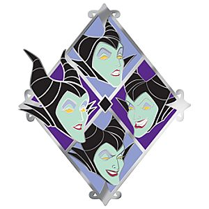 Many Faces of Disney Series Maleficent Pin