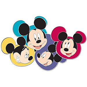 Many Faces of Disney Series Mickey Mouse Pin