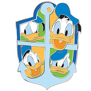 Many Faces of Disney Series Donald Duck Pin