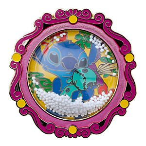 Snowglobe Stitch Pin
