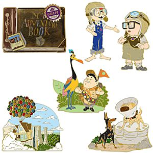 Disney Up Pin Set -- 6-Pc.