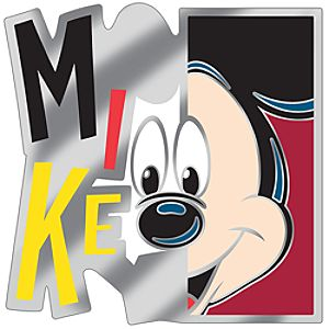 Modern Art Series Mickey Mouse Pin