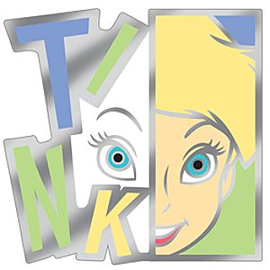 Modern Art Series Tinker Bell Pin