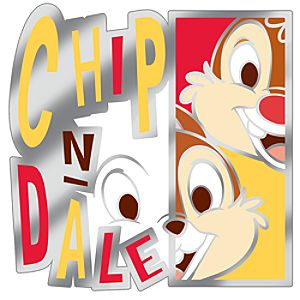 Modern Art Series Chip an Dale Pin