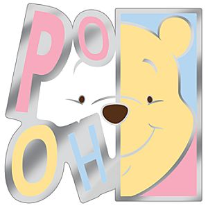Modern Art Series Winnie the Pooh Pin