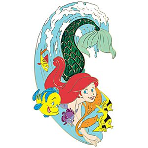 Ink Art Series Ariel Pin