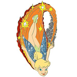 Ink Art Series Tinker Bell Pin