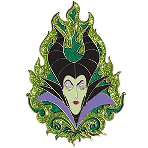 Ink Art Series Maleficent Pin