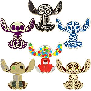 Variations of Stitch Pin Set -- 6-Pc.