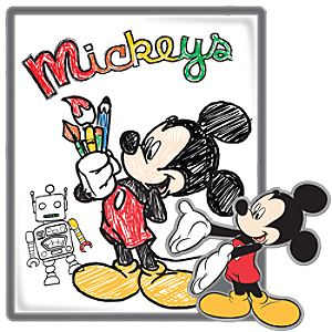 Picture Art Series Mickey Mouse Pin