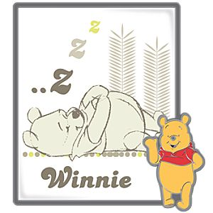 Picture Art Series Winnie the Pooh Pin