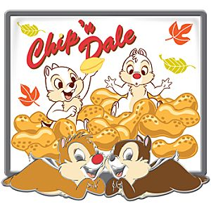 Picture Art Series Chip an Dale Pin