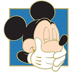 Portrait Series Mickey Mouse Pin