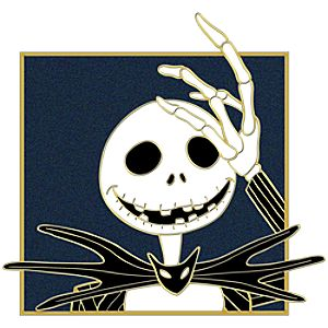 Portrait Series Jack Skellington Pin