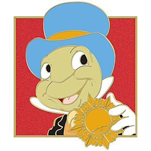 Portrait Series Jiminy Cricket Pin