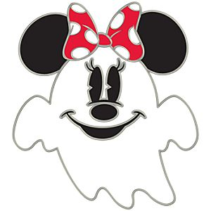 Ghost Series Minnie Mouse Pin