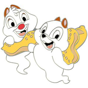 Ghost Series Chip an Dale Pin