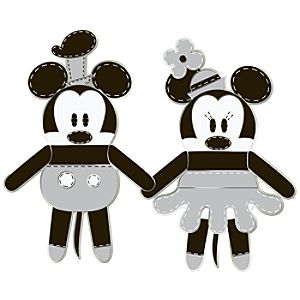 Pook-a-Looz Series Minnie Mouse and Steamboat Willie Pin