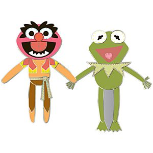 Pook-a-Looz Series Animal and Kermit Pin