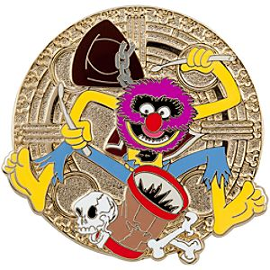 Pirate Series Muppets Animal Pin