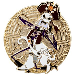 Pirate Series Jack Skellington and Zero Pin