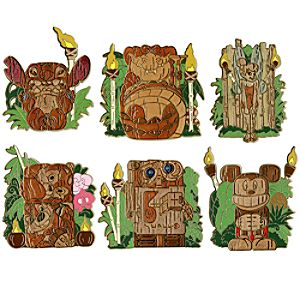 Tiki Pin Set -- 6-Pc.